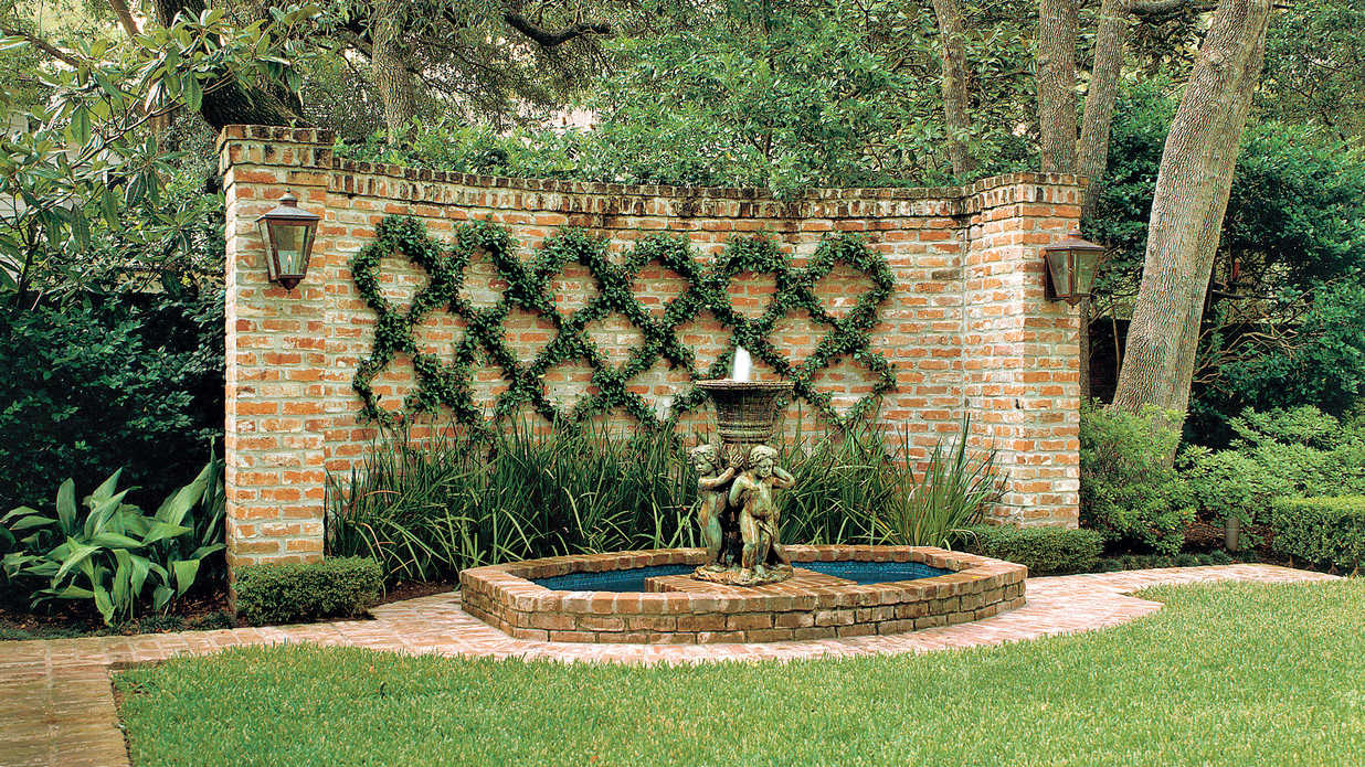 Small garden landscaping ideas: creepers