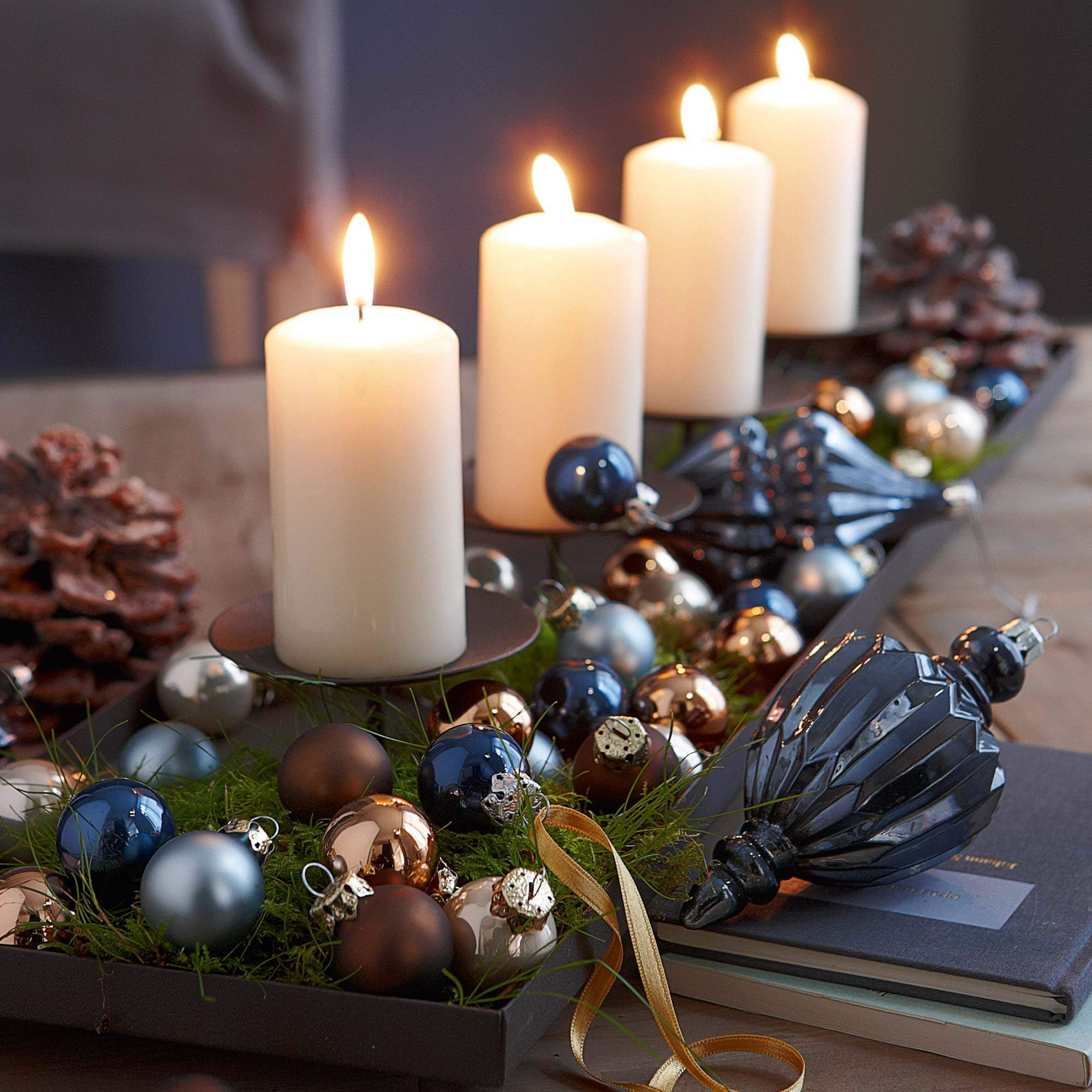 Christmas decorations for small spaces