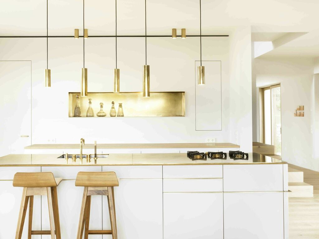 11 Ultra Modern And Luxurious Metal Kitchen Cabinets