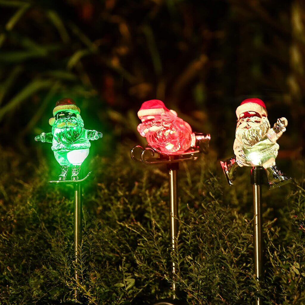 solar christmas lights