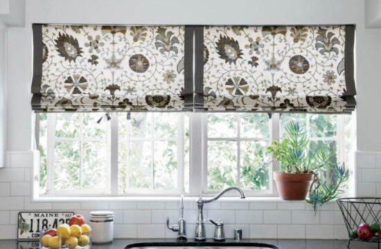 Modern kitchen curtain ideas