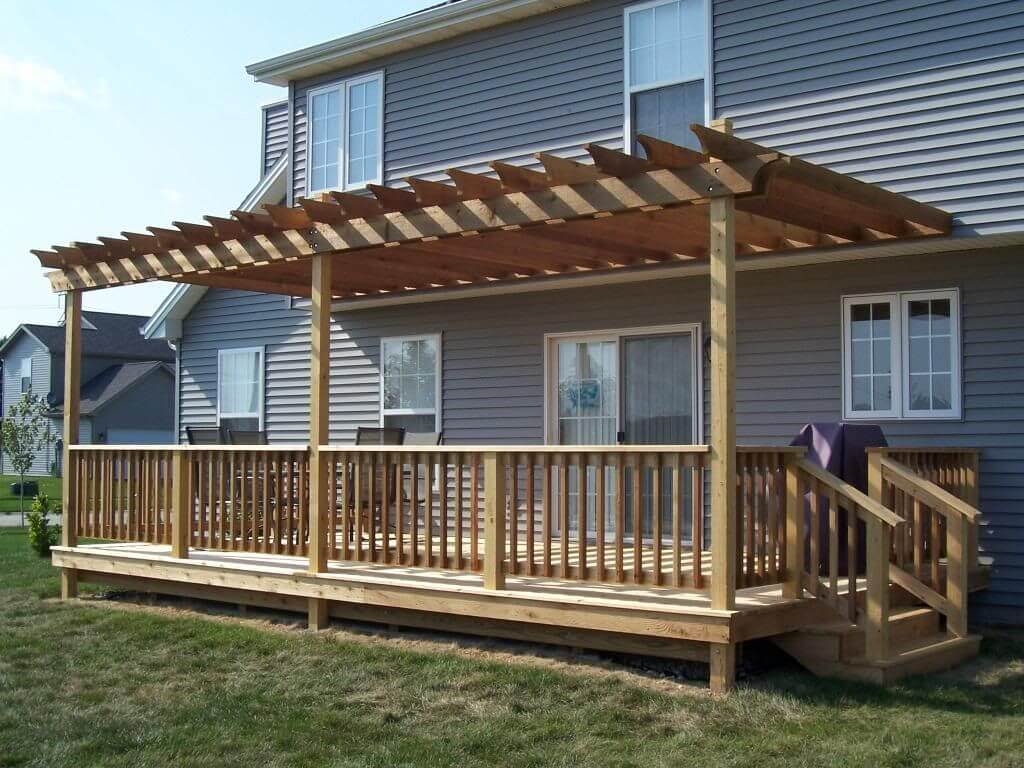 ideas for back porch