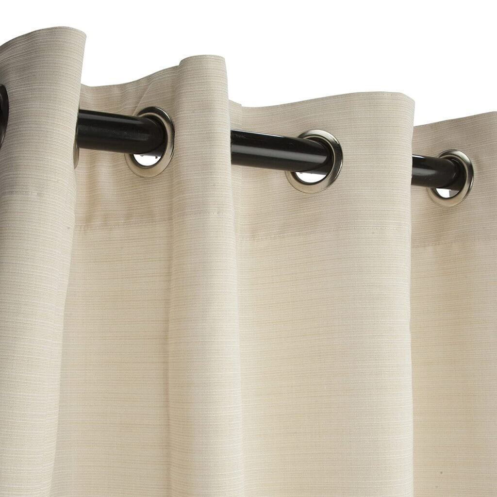 different style of curtains: Grommet Curtains